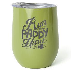 Running Stainless Wine Tumbler - Run and Paddy