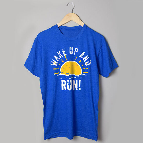 Running Short Sleeve T-Shirt - Wake Up And Run