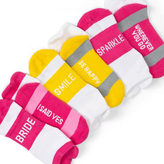 Socrates® Woven Performance Sock Set - Bride