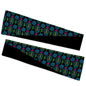 Running Printed Arm Sleeves - Day Of The Run