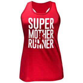 Women's Performance Tank Top - Super Mother Runner