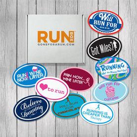 RUNBOX Gift Set - Running Is Fun Magnets