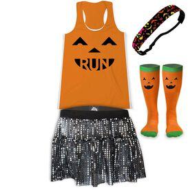 Pumpkin Run Running Outfit