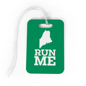 Bag/Luggage Tag Maine State Runner