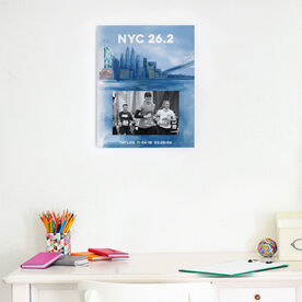 Running Photo Frame - New York City Sketch