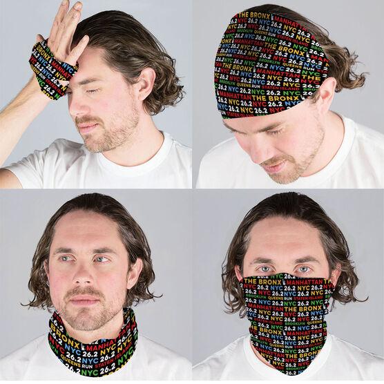 Running Multifunctional Headwear - NYC Burroughs 26.2 RokBAND