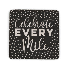 Running Stone Coaster - Celebrate Every Mile