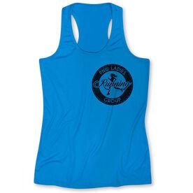 Women's Performance Tank Top - Pacific Northwest Ladies Running Group Logo (Black)