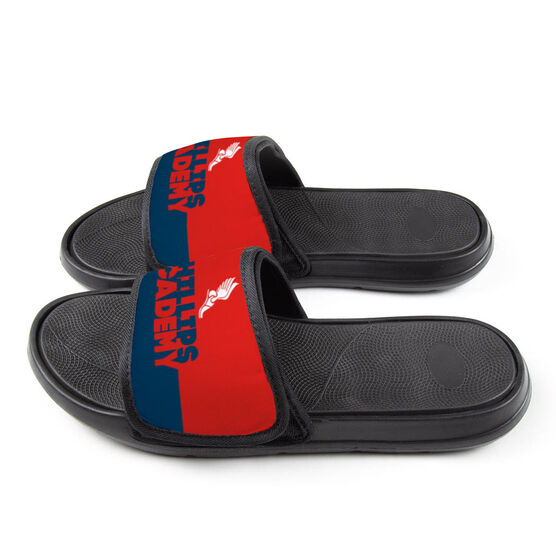 Track & Field Repwell® Slide Sandals - Team Name Colorblock