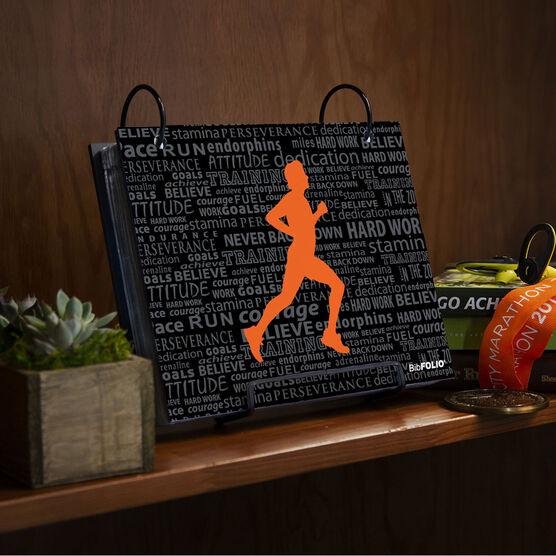 BibFOLIO® Race Bib Album - Running Inspiration Male