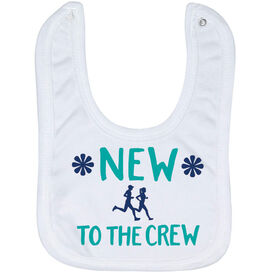Running Baby Bib - New To The Crew