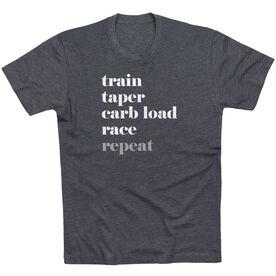 Running Short Sleeve T-Shirt - Run Mantra Repeat