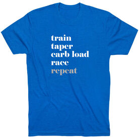 Running Short Sleeve T-Shirt - Run Mantra Repeat