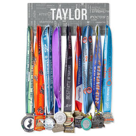 Running Hooked on Medals Hanger - Running Inspiration
