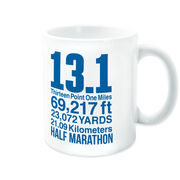 Running Coffee Mug - 13.1 Math Miles