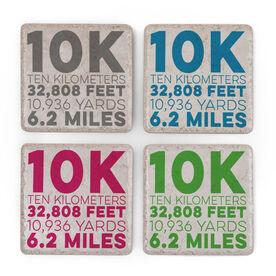 Running Stone Coaster Set of 4 - 10K