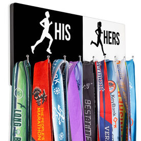 Running Hooked on Medals Hanger - His And Hers