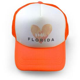 Running Trucker Hat Run Florida