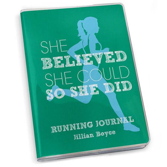 GoneForaRun Running Journal - She Believed She Could