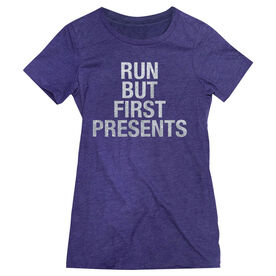 Women's Everyday Runners Tee - Run But First Presents