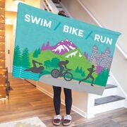 Triathlon Premium Blanket - Tri Country