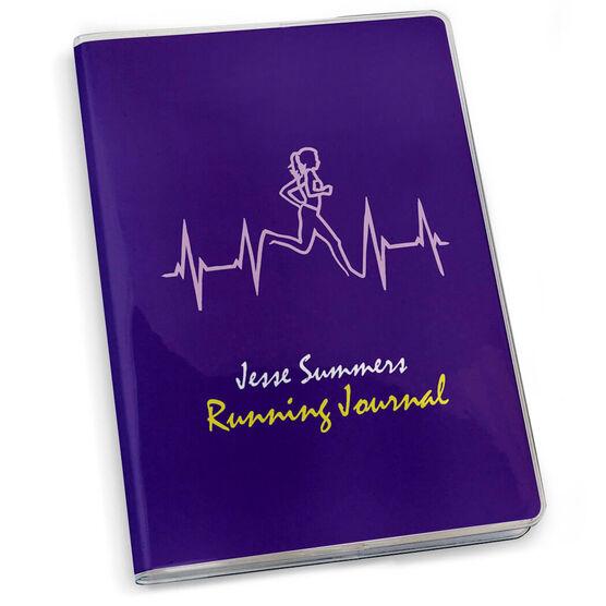 GoneForaRun Running Journal Heartbeat Runner Female