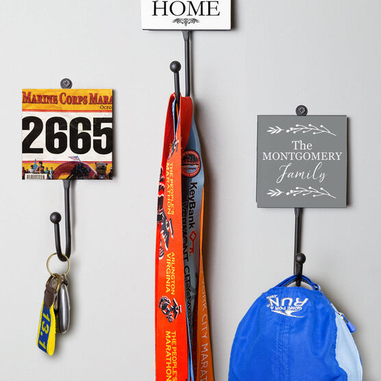 Running Medal Hook - Your Race Bib