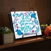 BibFOLIO® Race Bib Album - Let The Run Fill You With Joy