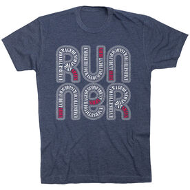 Running Short Sleeve T-Shirt - Aries Zodiac Runner