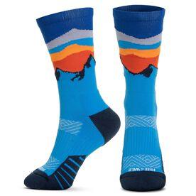 Socrates® Mid-Calf Performance Socks - Free & Wild