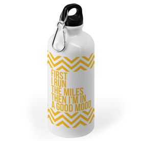 Running 20 oz. Stainless Steel Water Bottle - Then I'm In A Good Mood