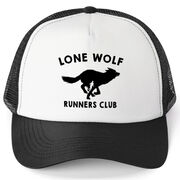 Running Trucker Hat Lone Wolf Runners Club
