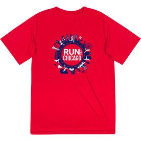 Men's Running Short Sleeve Performance Tee - Run For Chicago