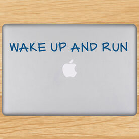 Wake Up And Run Removable GoneForaRunGraphix Laptop Decal