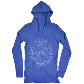 Women's Running Lightweight Performance Hoodie Tri Crest