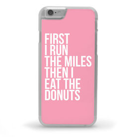 Running iPhone® Case - Then I Eat The Donuts