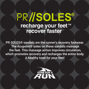 PR SOLES® Recovery Flip Flops V1 - Boston Edition