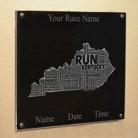 Kentucky State Runner Wall Art