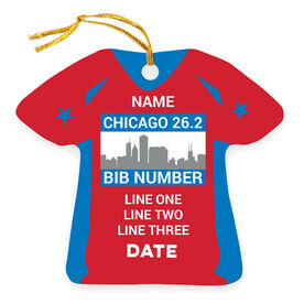 Running Ornament - Chicago Shirt
