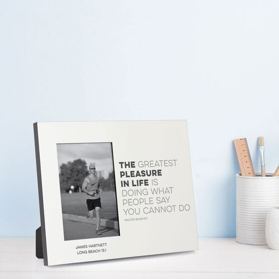 Running Photo Frame - The Pleasure In Life
