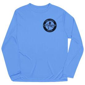 Running Long Sleeve Tech Tee - Pacific Northwest Ladies Running Group Logo (Black)