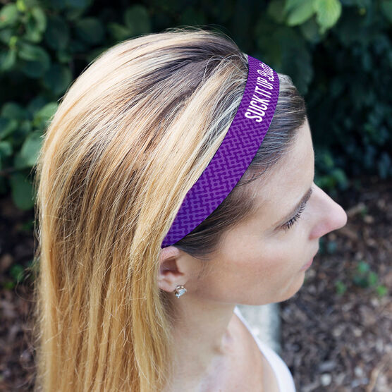 Running Juliband No-Slip Headband - Suck It Up Buttercup