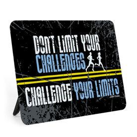 Running Desk Art - Don't Limit Your Challenges
