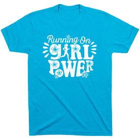 Running Short Sleeve T- Shirt - Running On Girl Power