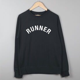 Running Raglan Crew Neck Sweatshirt - Runner Arc
