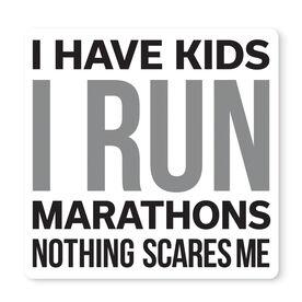 "Running 12"" X 12"" Removable Wall Tile - I Have Kids I Run Marathons"