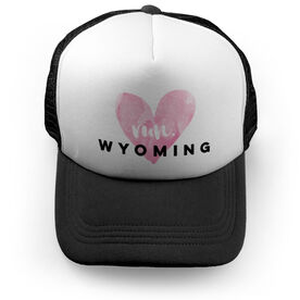 Running Trucker Hat Run Wyoming