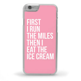 Running iPhone® Case - Then I Eat The Ice Cream