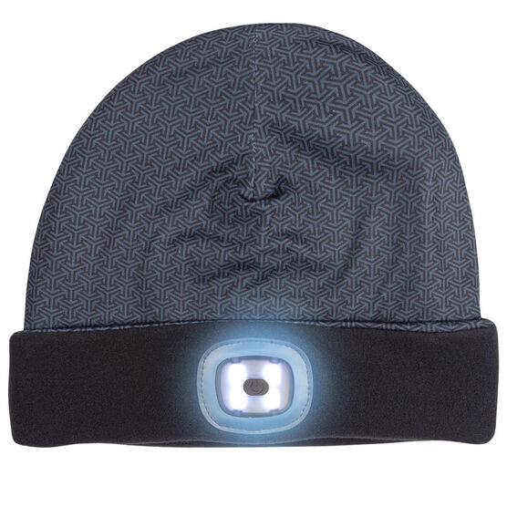 LED Performance Beanie - Midnight