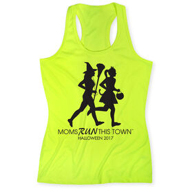 Women's Performance Tank Top - Moms Run This Town Halloween (2017)